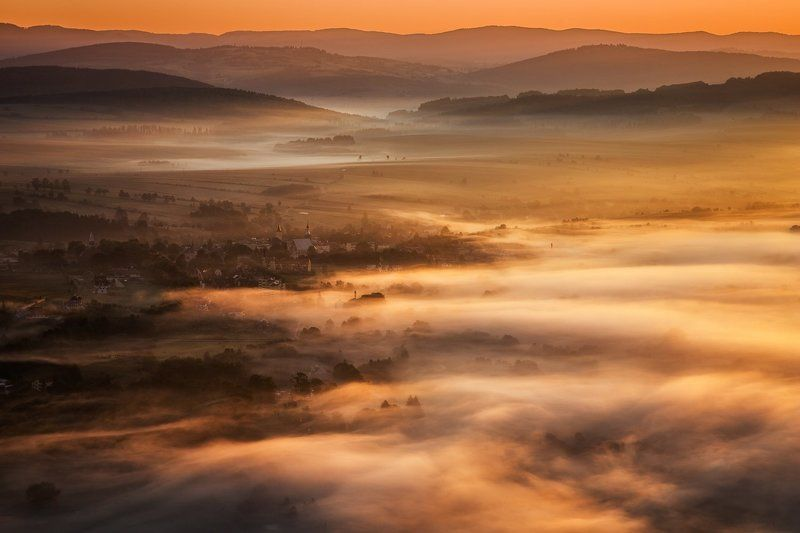 Foggy valleyphoto preview