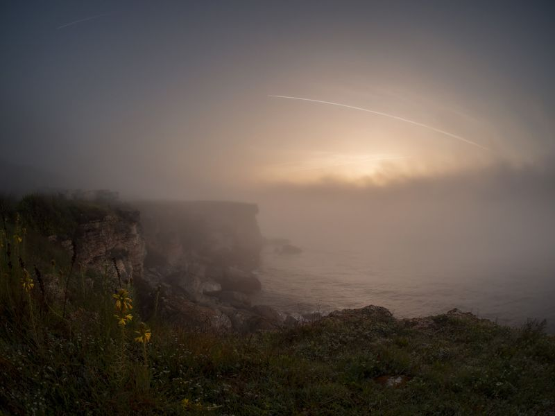 a misty morningphoto preview