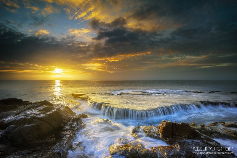 sun,sea,hang rai, seascape, waterfall Melody of the Sun and Seaphoto preview