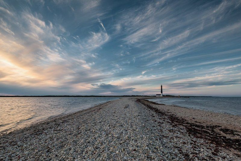 Маяк Сырве (Sõrve tuletorn). Остров Сааремаа, Эстония. Маяк Сырве.photo preview