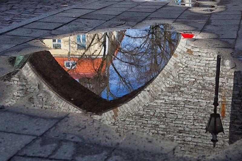 Таллинн в лужахphoto preview