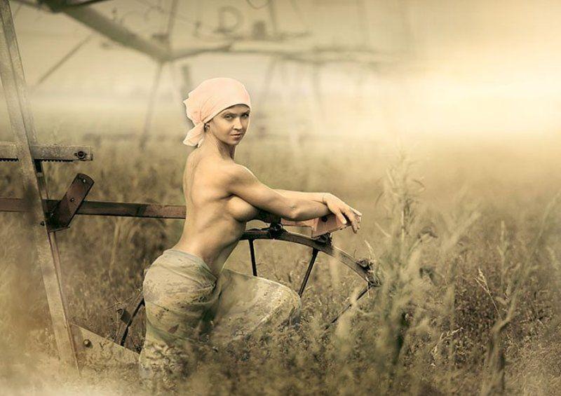 фото голые крестьянки