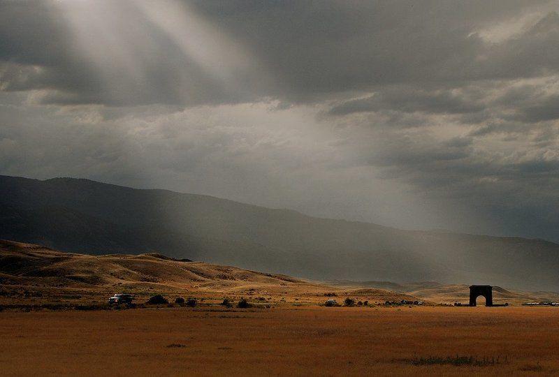 фото, дорого, свет, закат, вечер Дорожное фотоphoto preview