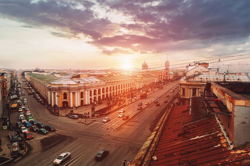 spring, russia, snow, спб, весна, снег, city, sky, небо, город, архитектура Sunsetphoto preview