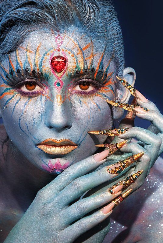 нейл-арт ногти визаж  make-up ***photo preview