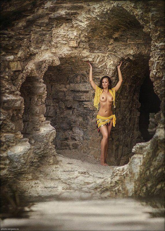 девушка,обнажённая, атлантка,стилизация,пленэр Сокровище Атлантидыphoto preview