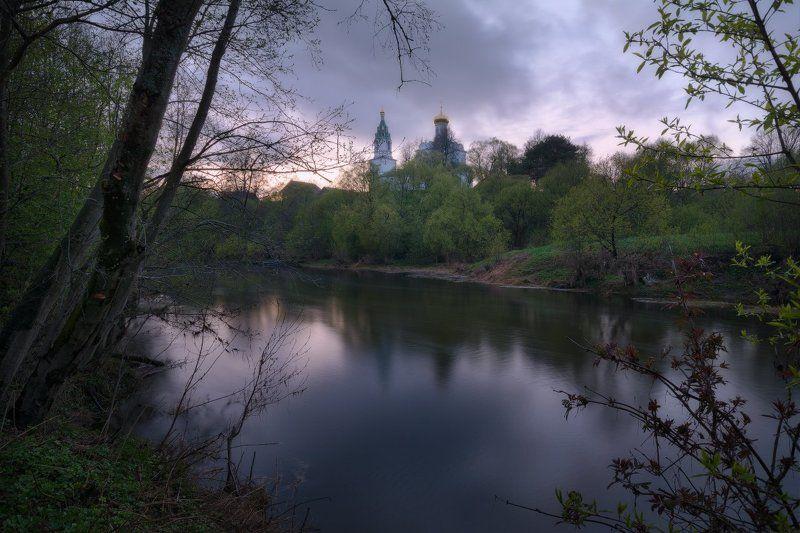 вечер, закат, весна, май, пейзаж, пейзажная съемка, фототуры выходного дня Вечер в Бужаровоphoto preview