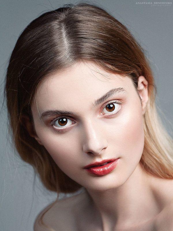 бьюти портрет модель красивая девушка фотограф москва студийная съемка портфолио beauty fashion мэйкап Аллаphoto preview