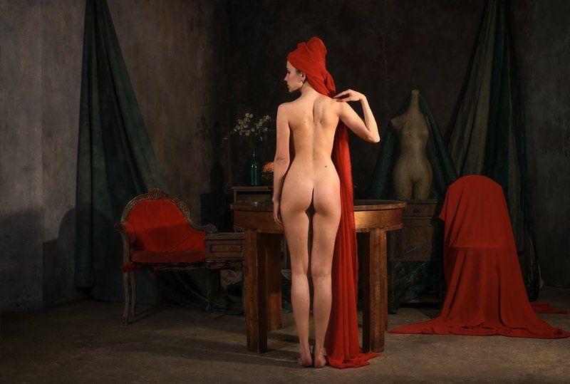 fine art nudes Алая роза (продолжение)photo preview