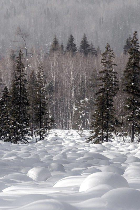урал, зима, таганай, белый, горы, снег, солнце Долина «Marshmallows»photo preview