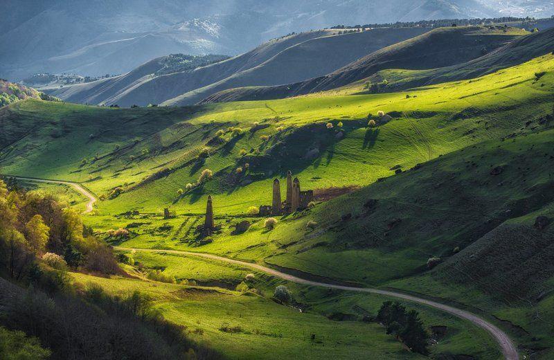 ингушетия, кавказ, эрзи Ингушские ландшафты.photo preview