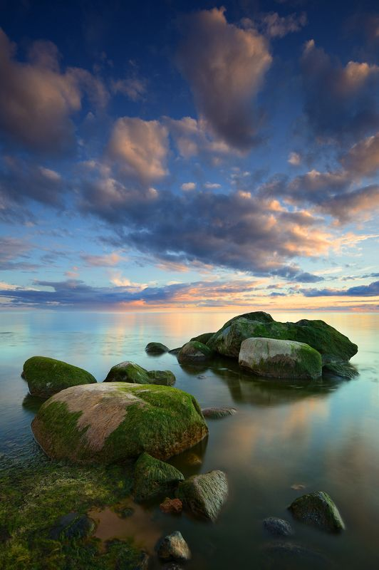 пейзаж море камни ***photo preview