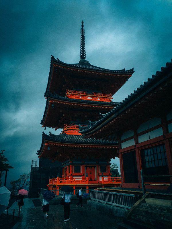 Дождливым днем в Киотоphoto preview