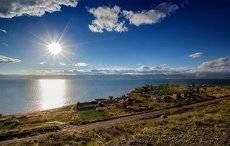 озеро Гусиное. посёлок Хаян.