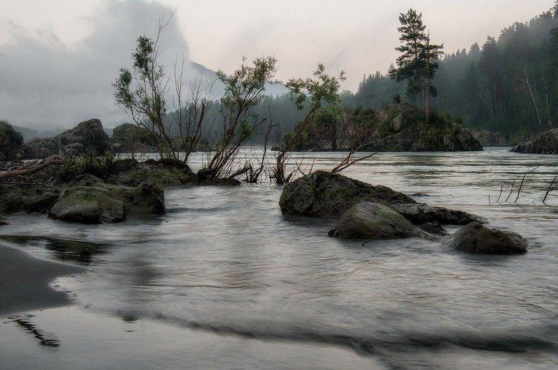 На Катуни рассвет.photo preview