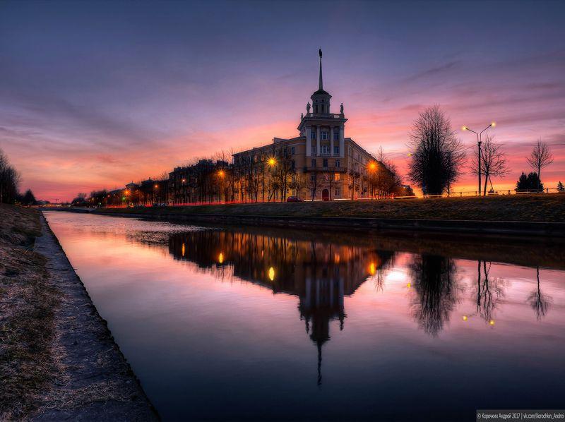Колпино, Комсомольский канал...photo preview