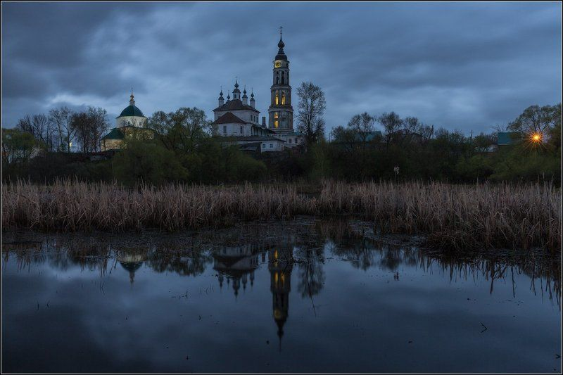 Россия, Ивановская обл, Лежнево Вечер в Лежневоphoto preview