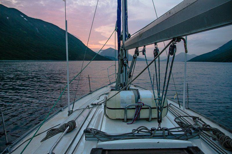 Закат в бухте Моржоваяphoto preview
