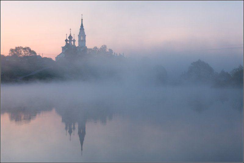 Россия, Московская обл, Валищево Небо розовеет, тишина вокруг...photo preview