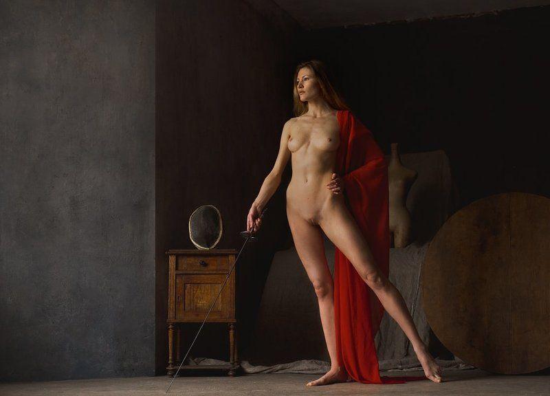 fine art nudes Вариация на тему сестры давших клятву Горациев. :)photo preview