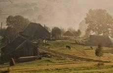 утро на хуторе...