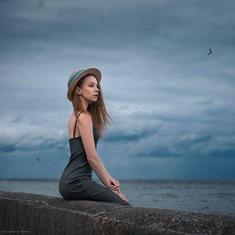 portrait, beauty, beautiful, model, girl, pretty, color, eyes, art, photo, nikon, conceptual, 50mm, dantar90, begmad, портрет, глаза, красивая, взгляд Sea windsphoto preview
