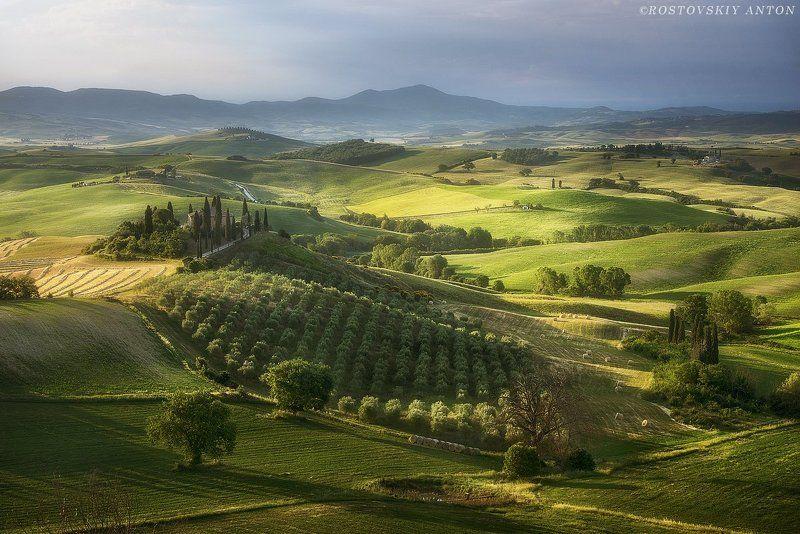 Тоскана, фототур, Италия,  утро в Тосканеphoto preview