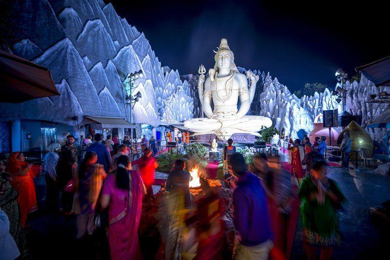 индия, бангалор, храм шивы, shivoham shiva temple, Shivoham Shiva Templephoto preview