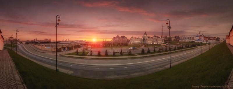 Казань, Вид на парк земледельцев, улицу Батуринаphoto preview