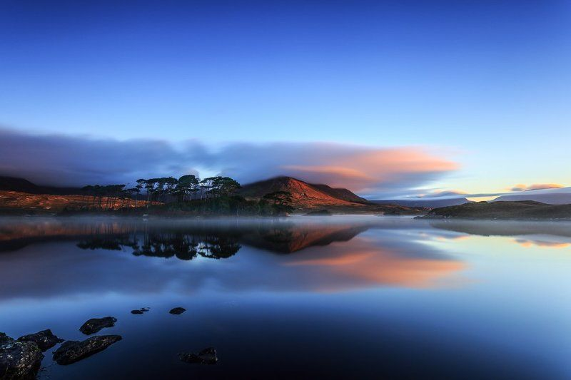 Connemara, Ireland, Galway, long exposure, longexposure, sunrise, sunset, lake, fog, lee, little stopper, clouds Connemaraphoto preview