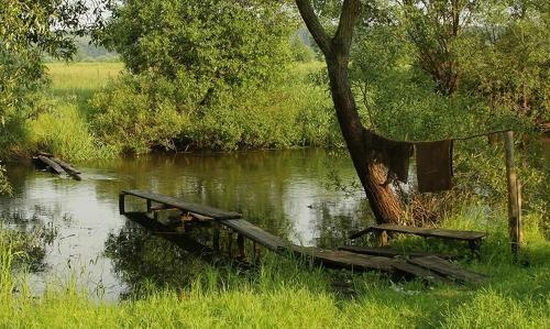 Мостик к речке