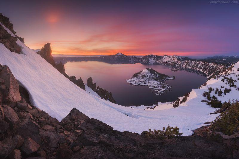 Орегон, США Crater lakephoto preview