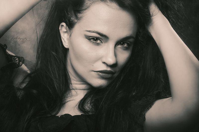 portrait, black & white Sabyphoto preview
