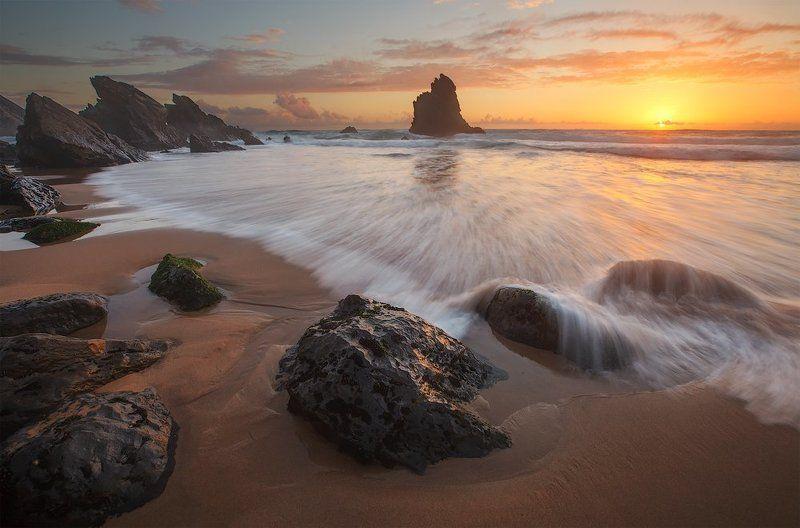 praia da adraga portugal kljuchenkow landscape Praia da Adragaphoto preview