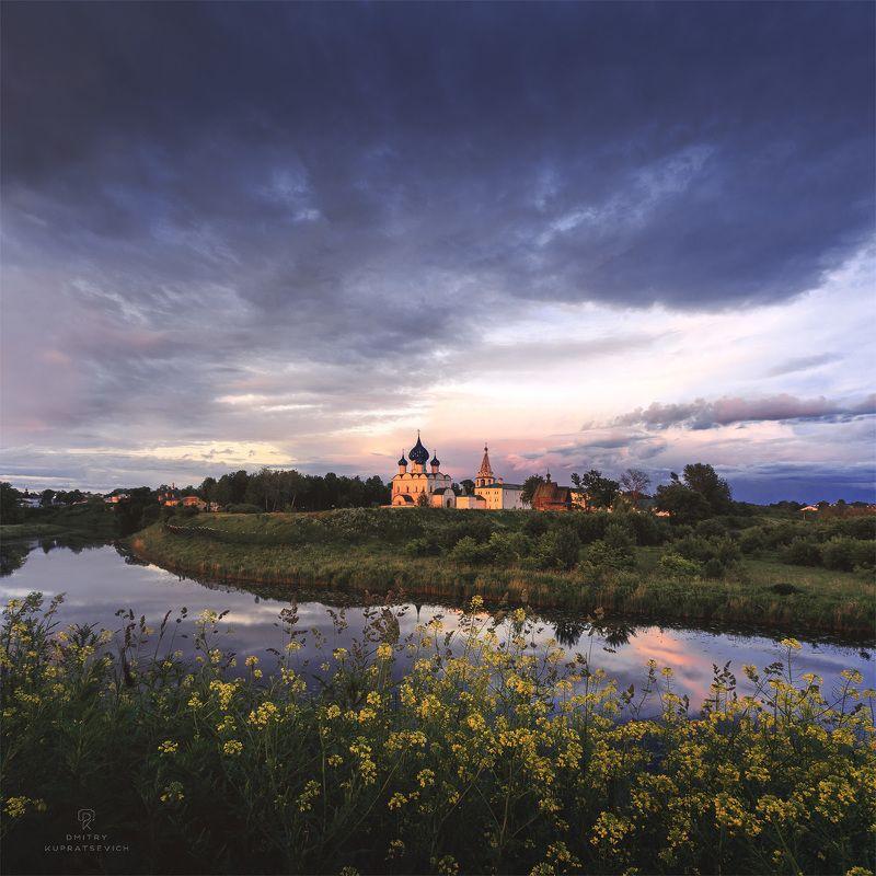суздаль, вечер, закат, пейзаж После грозыphoto preview