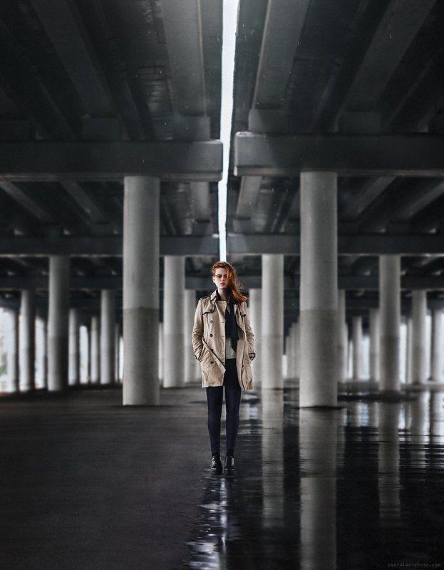 портрет, девушка, город, свет Mashaphoto preview