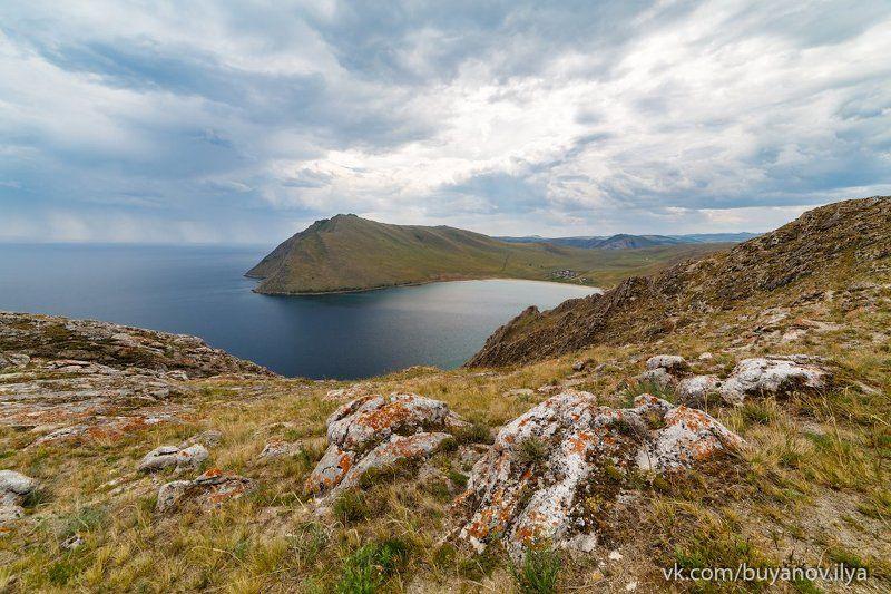 Байкал, бухта Ая.photo preview