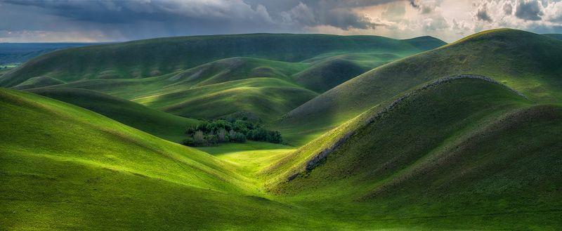 оренбуржье, долгие горы Бархат Южного Урала.photo preview
