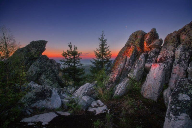 урал, горы, малиновая Уральское утроphoto preview