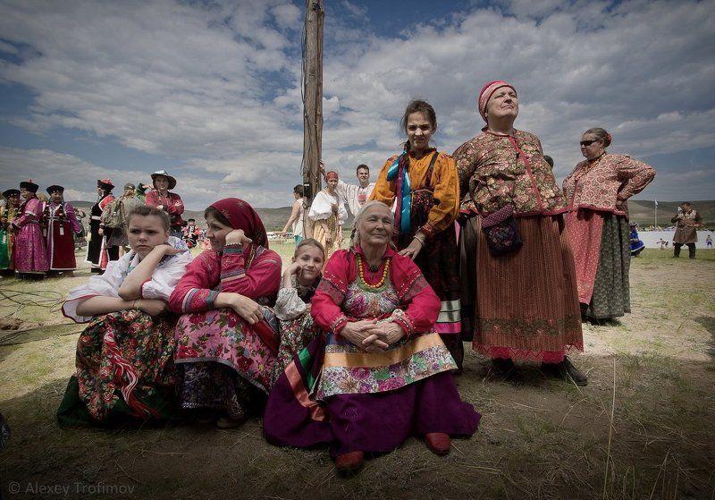 портрет, семейские, женщины, русские женщины, старообрядцы Семейскиеphoto preview
