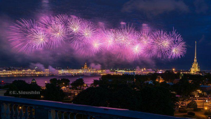Фейерверк в Санкт-Петербурге! Алые Паруса 2017!photo preview