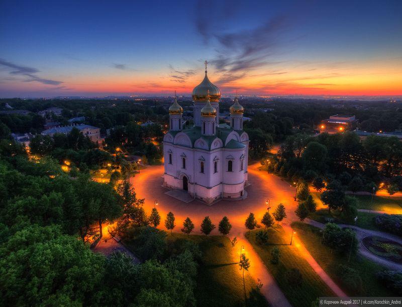 Екатерининский собор. Пушкин, Царское село...photo preview