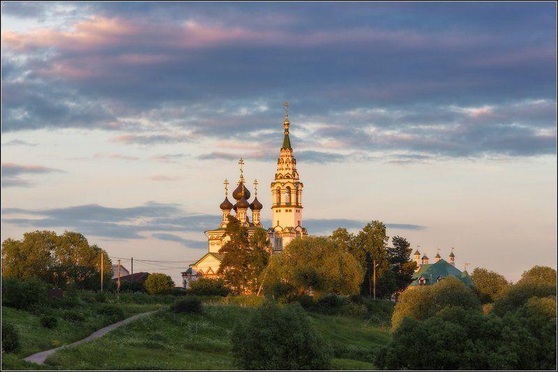 Россия, Московская обл, Валищево Летний вечерphoto preview