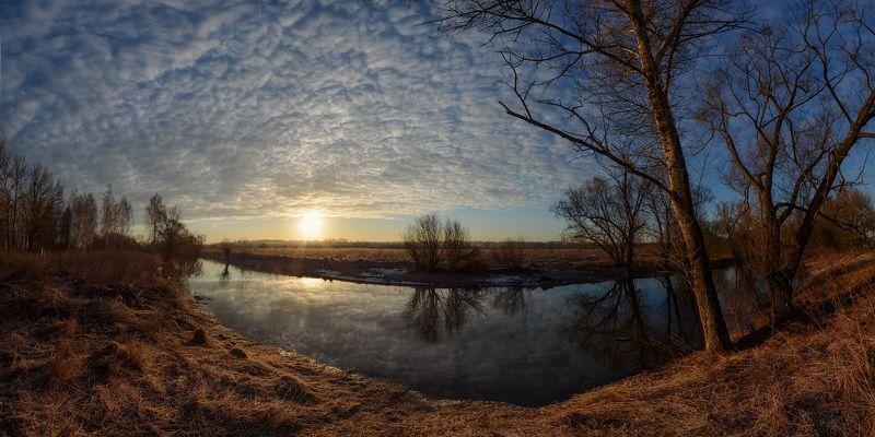 тула, тулица, весна На просторах утренней зариphoto preview