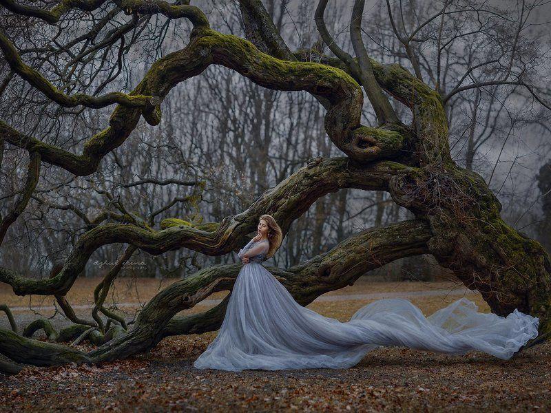 girl tree dzhulirina irinadzhul portreit people ***photo preview