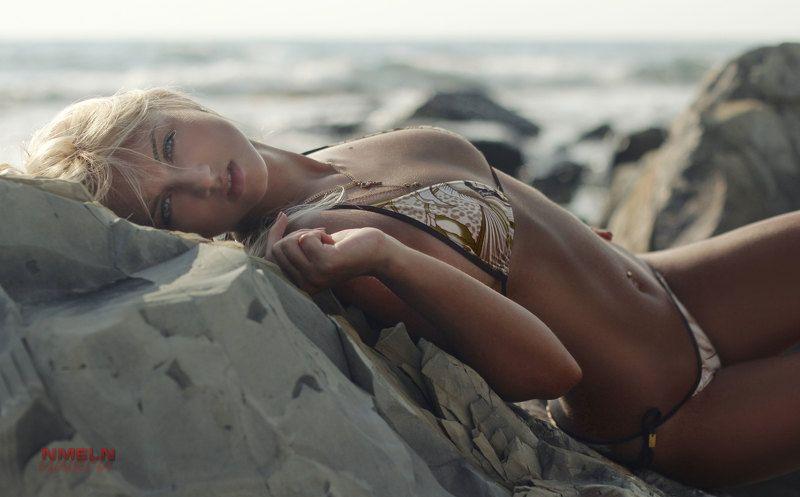 девушка, скалы, море, девушканаморе, фотографмосква, блондинканаморе ***photo preview