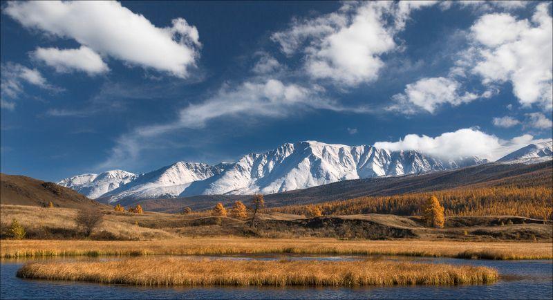 алтай, россия, джангысколь, северо-чуйский хребет, ештыкель, ештыколь, горы, небо, облака Altai Mountainsphoto preview