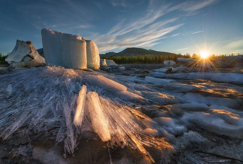 якутия, чибагалах, индигирка Якутия. Ледниковый период.photo preview