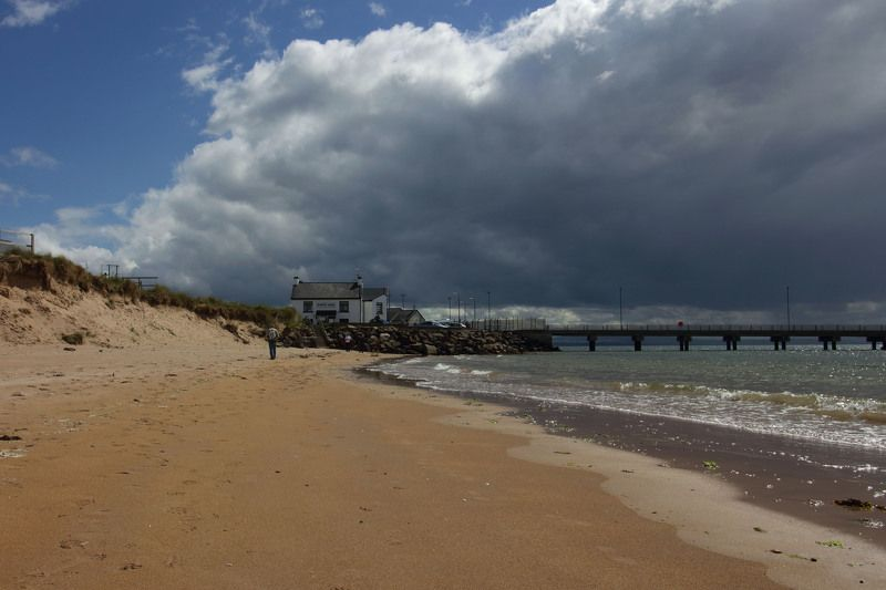 ирландия, море, залив, причал, корабли, парусники У берегов залива Фойлphoto preview