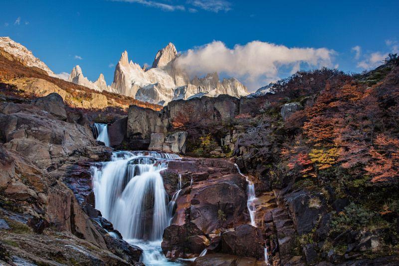 Патагония, Фиц Рой, Аргентина На рассветеphoto preview